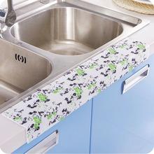 2016 new DIY Self adhesive Waterproof PVC Wall sticker 12cmX50cm Kitchen Ceramic Stickers Home Decortaion - Linda store