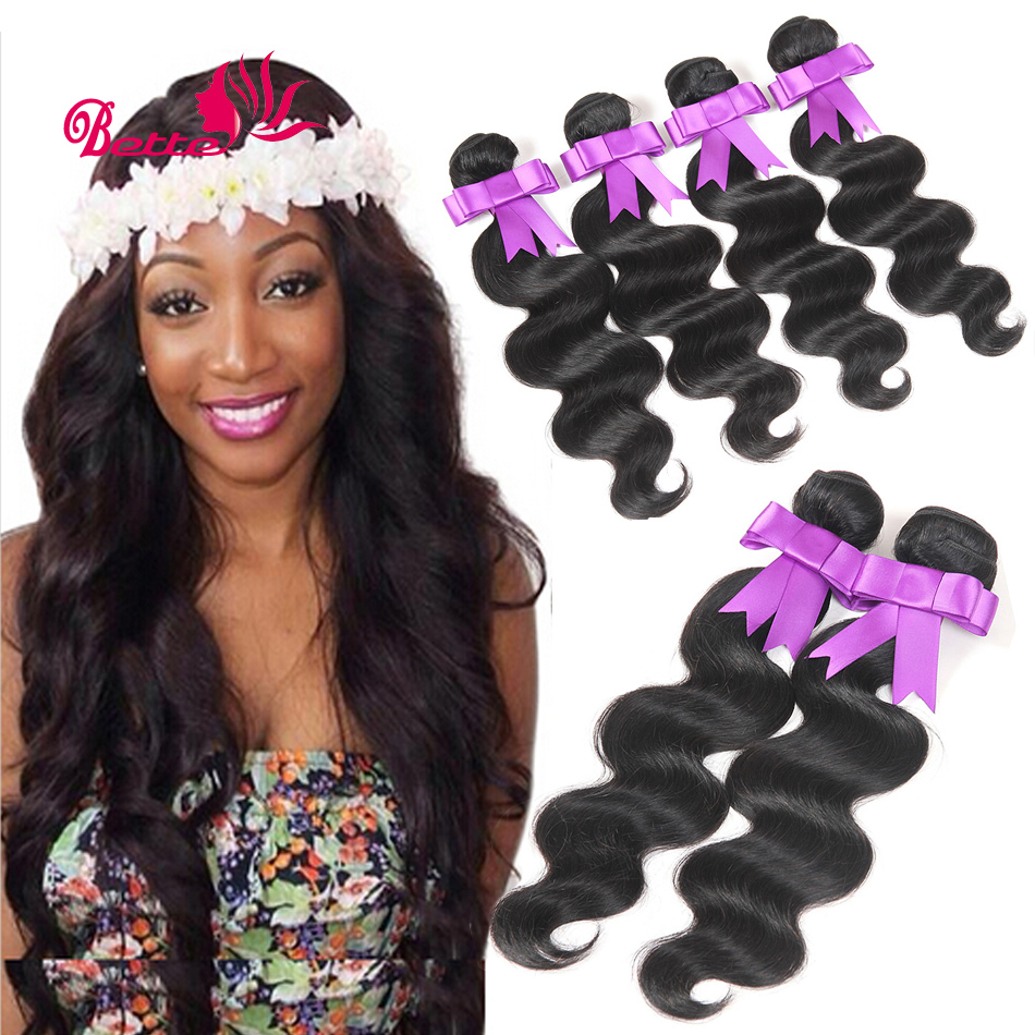 Top Hair Extension Cambodian Virgin Hair Bundles Body Wave Virgin Hair Extension 3pcs lot 100g 6A Unprocessed Virgin Hair Weave