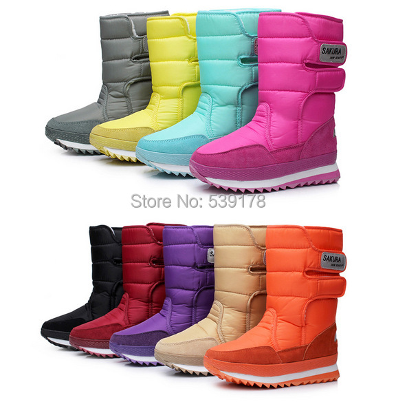 AISIMI 2015 new arrive keep warm snow boots fashion platform knee high winter
