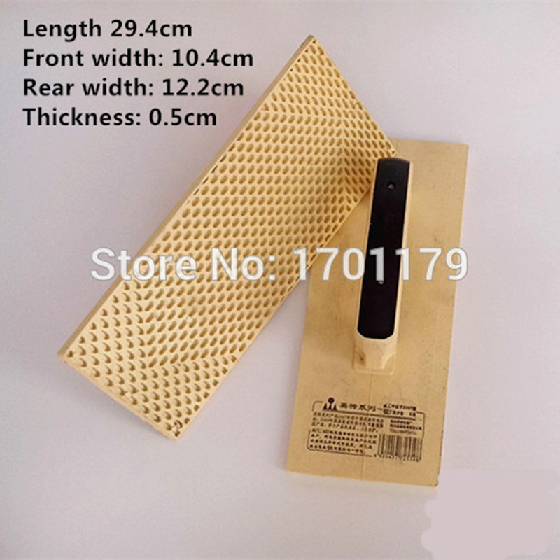 Intel plastic timber shipping Kazakhstan Clay flat trowel stucco masons tools bricklayer bricklayer wipe fender(China (Mainland))