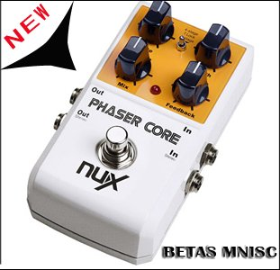 STOMPBOX/UNX Effect Pedal ,Core series , Phaser Core This dual-stage PHASER adds incredible color to your sound<br><br>Aliexpress