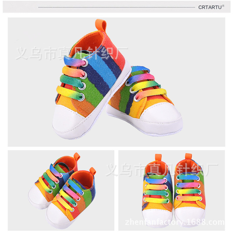 6 Colors Hot sale New style Baby Toddler Soft Sole Shoes Unisex kids Baby Shoes First Walkers Shoes(China (Mainland))
