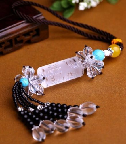 Lucky Charm Car Pendant Car Rear View Mirror Hanging Ornaments Car Decoration(China (Mainland))