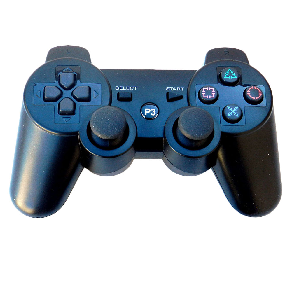 High Quality 2.4GHz Wireless Bluetooth Game Controller For PS3 Console FOR PS3 Game Gamepad Wholesale Price 11 Color(China (Mainland))