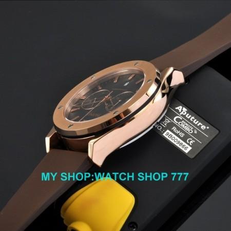 ПАРНИС 44 мм Из Нержавеющей стали корпус часов хронограф кварц pvd дело Верховного qualitymen часы Кварцевые часы