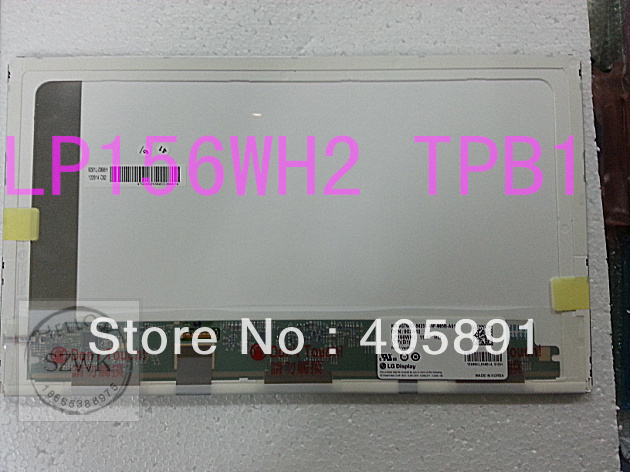 Brand new LP156WH2 TPB1 LTN156AT08 30pin laptop screen LED panel notebook components for Dell 5510(China (Mainland))