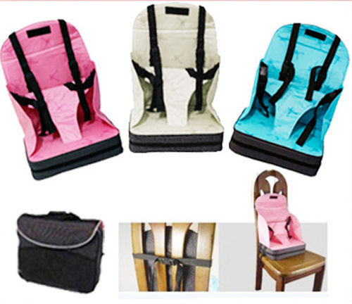 Hot New Baby Booster Seat Travel High Chair Portable Light Weight Foldable Easy Carry(China (Mainland))