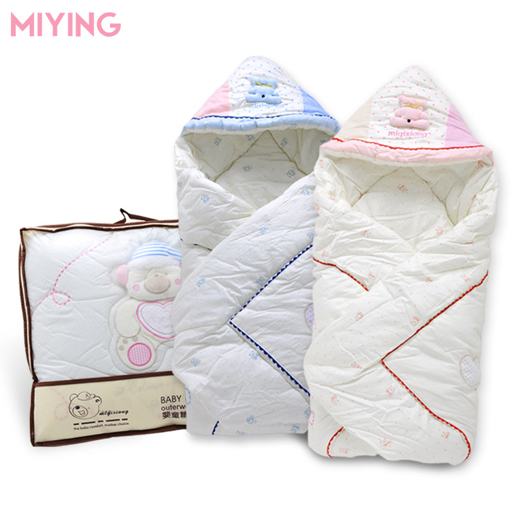 100% Cotton Teddy Bear Brand New Winter Newborn Baby Hold Was Thick Cotton Baby Sleeping Bag For Children Free Shipping<br><br>Aliexpress