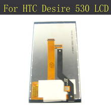 Buy 100% new tested lcd HTC Desire 530 LCD Display Touch Screen Digitizer Assembly Original Replacement screen for $18.99 in AliExpress store