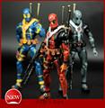 6 17cm PVC The Avengers Super Hero Justice league X MAN Deadpool Action Figure toys Collection