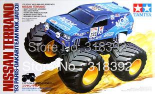 Tamiya 17011 1/32 Wild Mini 4WD Series No.11 Nissan Terrano '93 Paris-Dakar kit 1:32 assembly plastic car Free shipping  boy toy