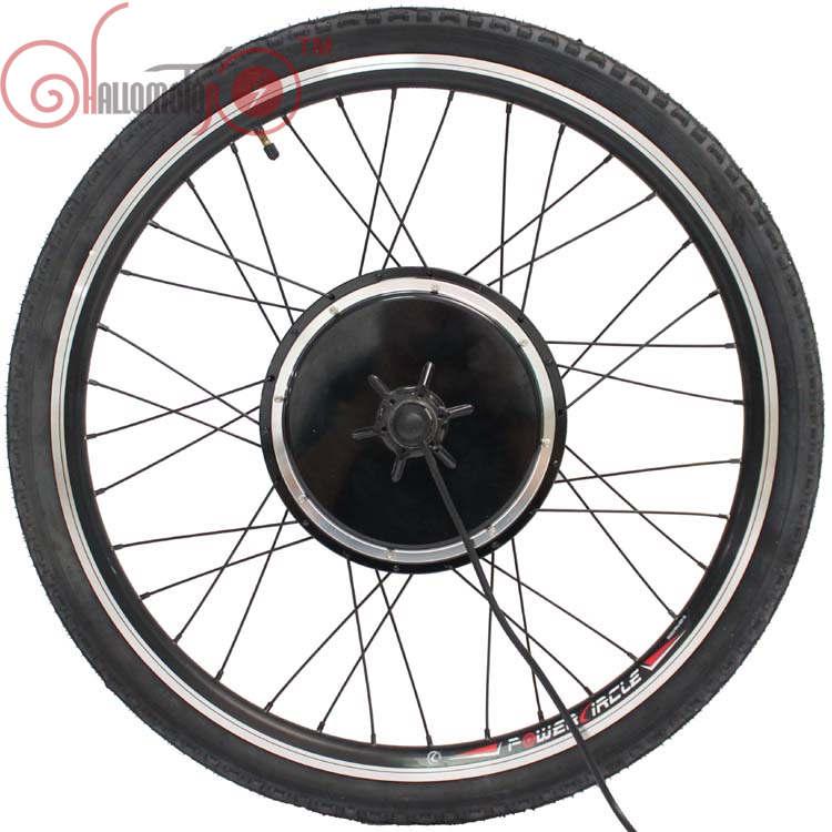 "Good Quality EBicycle 24/36/48V 500W 20"" 24"" 26"" 700C 28"" 29er Front Wheel Brushless Gearless Hub Motor+Rim+Spokes+Tyre Wheel(China (Mainland))"