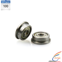 100 Pcs/Lot 3d printer F623ZZ bearing wheel for MakerBot RepRap UP Mendel I3 Printer by DHL or Fedex