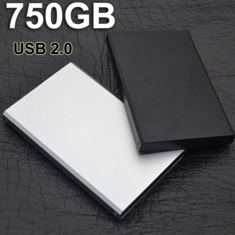 2015 Brand New 24hour delivery 750gb disco duro hd externo portable hard disk drive disque dur externe USB 2.0 Hot selling(China (Mainland))