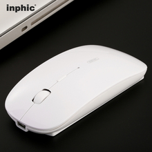 Inphic P-M1 Rechargeable Battery USB Wireless Mouse Mute Silent Click Mini Noiseless Optical Mice 1600 DPI for PC Laptop(China (Mainland))