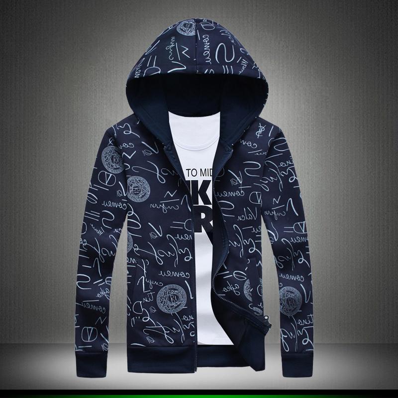 Fall 2016 men's casual cardigan hoodies,Autumn High quality men's jacket jacket, Lrregular pattern Men's big yards guard coat(China (Mainland))