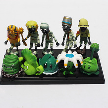 Buy 10pcs/set PVZ Plant VS Zombie Cabbage Pult Bucket Zombie PVC Dolls Figure Model Toys Gift Children Free for $11.57 in AliExpress store