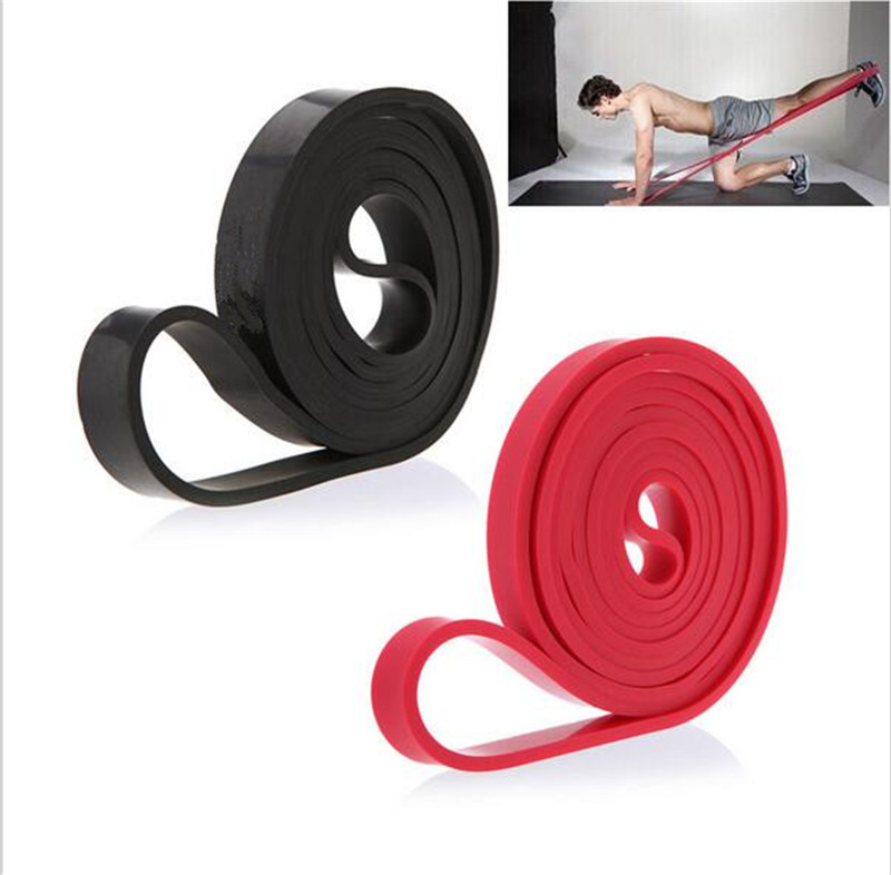 208cm Natural Latex Pull Up Physio Resistance Bands Fitness CrossFit Loop Bodybulding Yoga Exercise Fitness Equipment(China (Mainland))