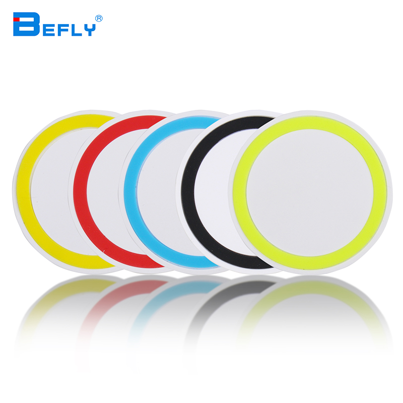Befly 2016 Qi Wireless Power Charger Portable Mini Charging Pad Plate Qi Station Q5 For Samsung Galaxy S3 S4 S5 Note 2(China (Mainland))