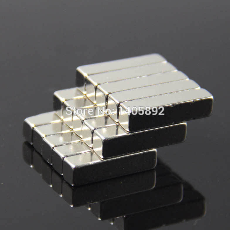 500pcs Super Powerful Strong Rare Earth Block NdFeB Magnet Neodymium N35 Magnets F15*5*5mm- Free Shipping<br><br>Aliexpress