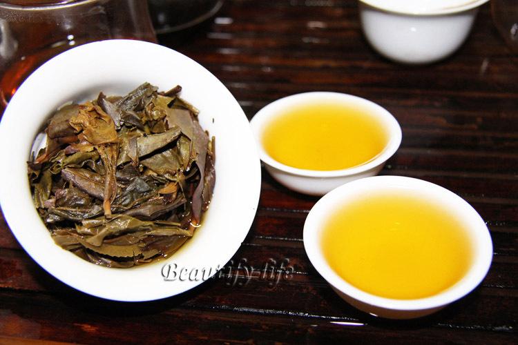 2008 Raw Puerh Tea 357g Puer Pu er Tea Puer Sheng Cha Promotion 6 years aged