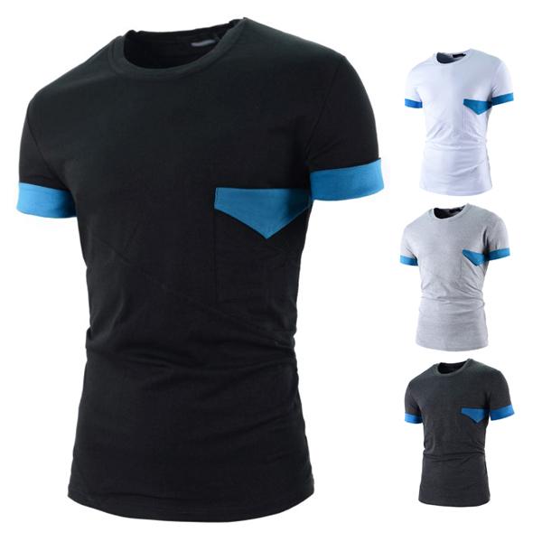 produto Hot Sale 2015 New Cool Mens Sports Casual T Shirt Harmonia short sleeves Sleeve Cotton Camisetas Men T-shirt tshirt Clothes