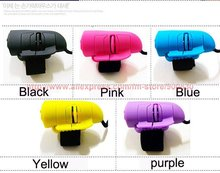 Finger mouse USB 2.0 Mini 3D Optical Lazy Mouse Ring Mouse & Free Shipping