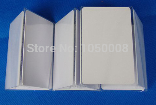 100pcs/lot EM4200 blank card Thin pvc Card rfid id card 125KHz 18000-2 Smart Card Chips(China (Mainland))