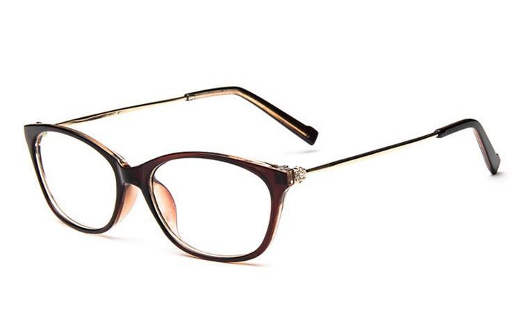 2016 Brand Design Diamond Spectacle Frame Women Eyeglasses Frames Women Computer Reading Optical clear lens Frame Eye Glasses (17)