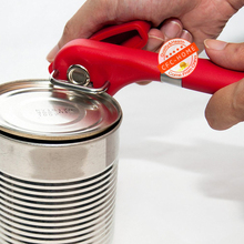 Heavy Duty Safety Manual Can Opener, Smooth Edge Side Cutting Feature, Won't Touch Food(China (Mainland))