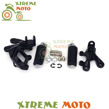 Buy Front Rider Footrests Foot Peg Rests Pedal Tripod Brackets Mount Kawasaki ZX14R ZZR1400 2006-2014 07 08 09 10 11 12 13 for $11.69 in AliExpress store