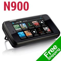 Unlocked Original Nokia N900 Mobile Phone GSM 3G GPS WIFI 5MP 1 Year Warranty FREE SHIPPING