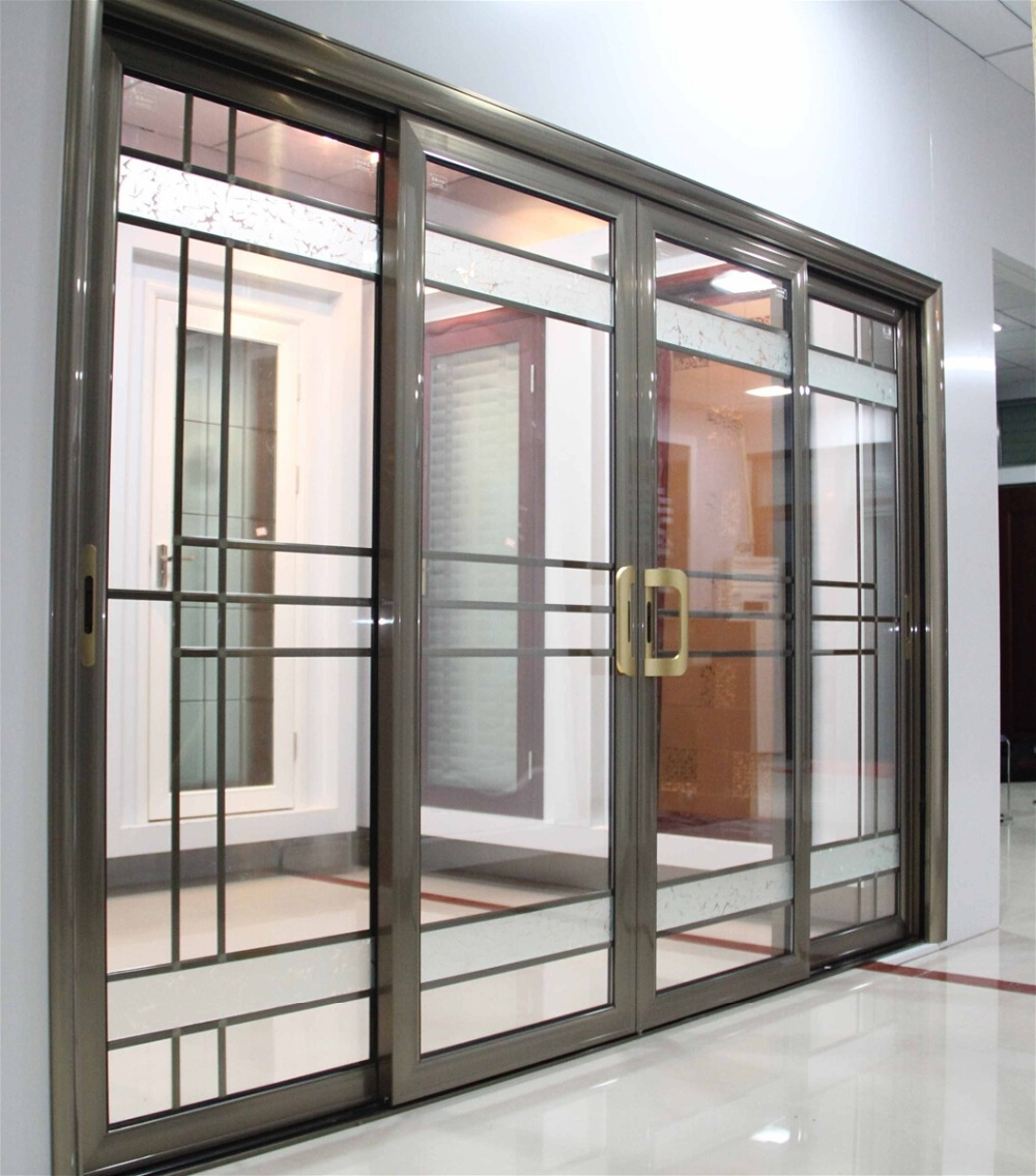 2015 China Supplier Approving New Wheels Aluminum Magnesium Sliding Doors High Quality Push and Pull Doors Customized(China (Mainland))