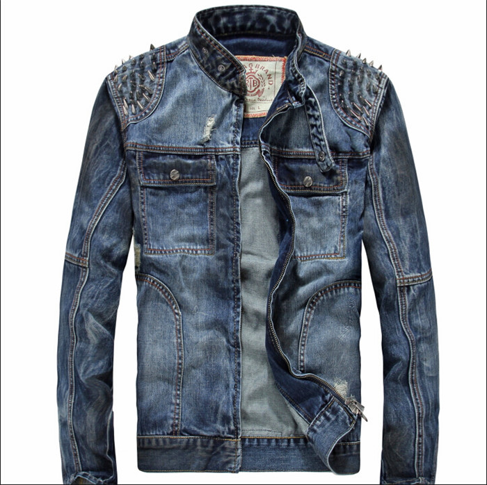 2015 New Mens Casual Denim Jackets Overcoat,Outwear, Winter Jacket, Mens Coat ,Big Size M-3XLОдежда и ак�е��уары<br><br><br>Aliexpress