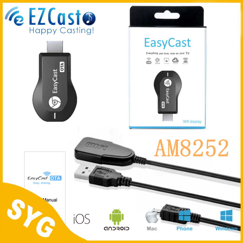 SYG EZcast WIFI Display Dongle EasyCast Miracast Airplay DLNA For for Android Windows IOS better than