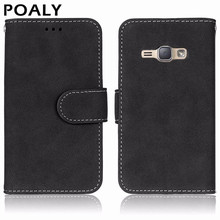 Buy Samsung J1 2016 Case Wallet PU Leather Silicone Cover Phone Case Samsung Galaxy J1 2016 J120 J120F SM-J120F Case Flip for $3.78 in AliExpress store