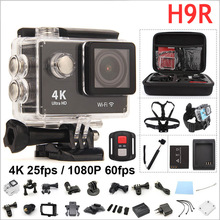Buy Action camera Original H9R remote Ultra HD 4K WiFi 1080P/60fps 2.0 LCD 170D Helmet Cam waterproof pro camera gopro hero 4 style for $48.75 in AliExpress store