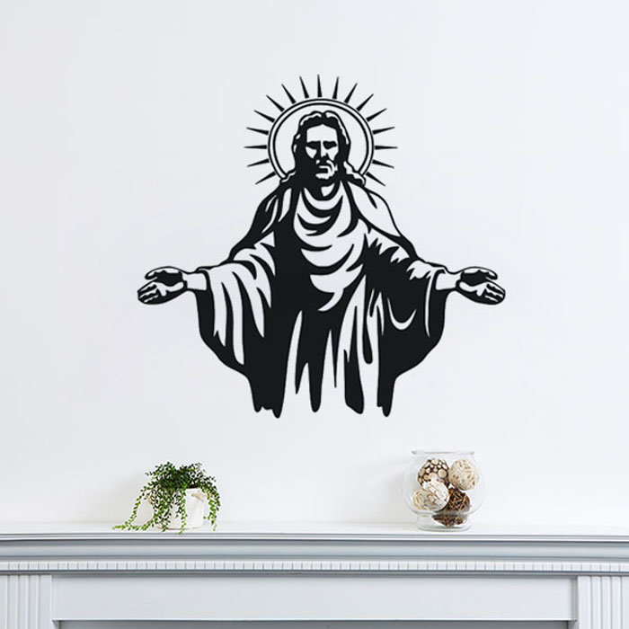 Wall Decor Jesus : Popular jesus wall decals buy cheap lots