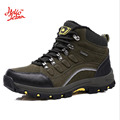 Hellozebra Unisex Boots Lovers Shoes Men Boot Ankle Waterproof Spring Style Winter Shoe Rubber Sole Blue