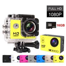 GOLDFOX SJ7000 Mini Camera WIFI Action Recorder Cam Go 1080P HD Sport DV Pro Camcorder Car DVR Waterproof Helemt Cam 16GB Card(China (Mainland))