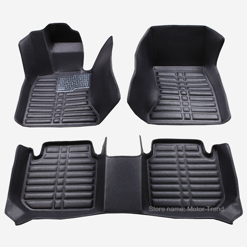 Custom fit car floor mats for Ford F-150 Escape Kuga Fusion Mondeo Ecosport Explorer Focus Fiesta car styling carpet liner RY38<br><br>Aliexpress