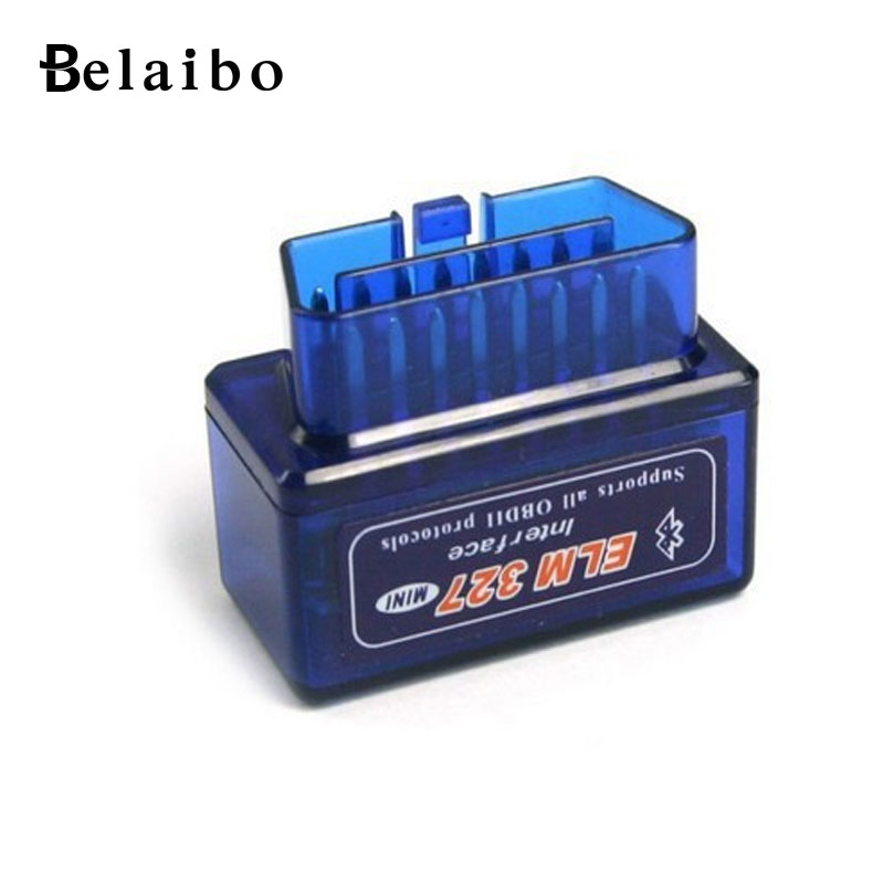 ELM327 OBDII Bluetooth Auto Scanner OBD2 V2.1 Auto Diagnostic Scanner Code Reader/Scan Tool Check Engine Light for iOS&Android(China (Mainland))