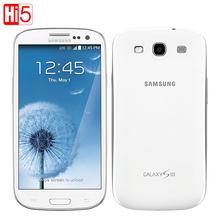 "Original Samsung Galaxy S3 i9300 Unlocked moblie phone Quad core 4.8"" 8MP Camera WIFI Android GPS 16GB ROM NFC Free shipping(China (Mainland))"