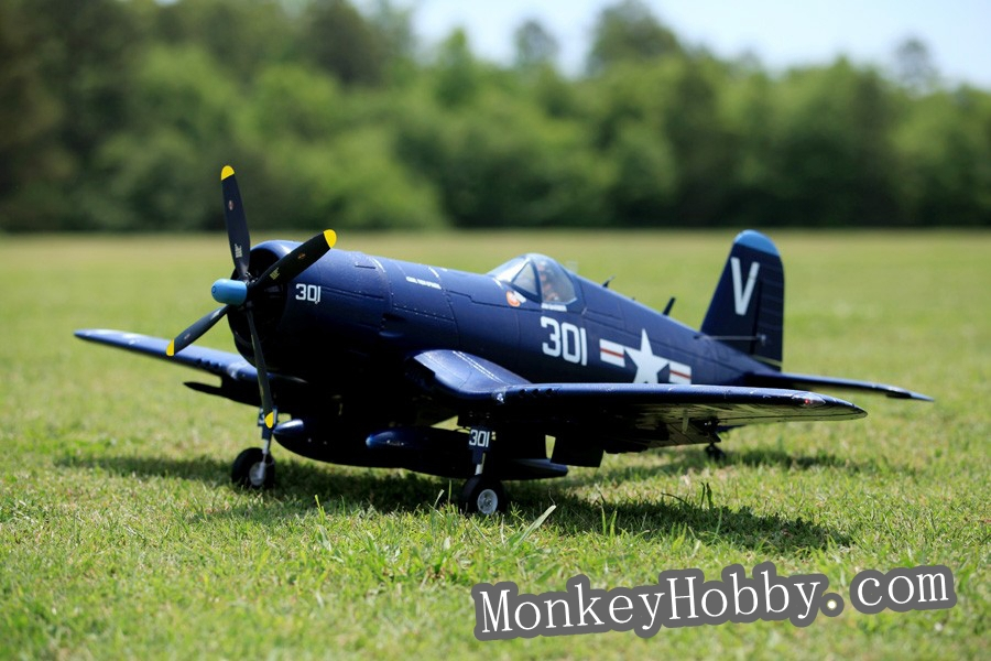 FMS 1.4M / 1400mm F4U-4 V3 PNP - BLUE, RC plane FMS024 F4U big scale EPO model warbird new arrival popular hobby plane(China (Mainland))