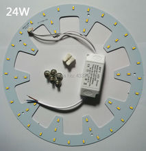 10W 12W 15W 18W 20W 24W LED Panel Light board SMD 5730/5630 LED Round Ceiling board circular lamp board + power driver+magnetic(China (Mainland))