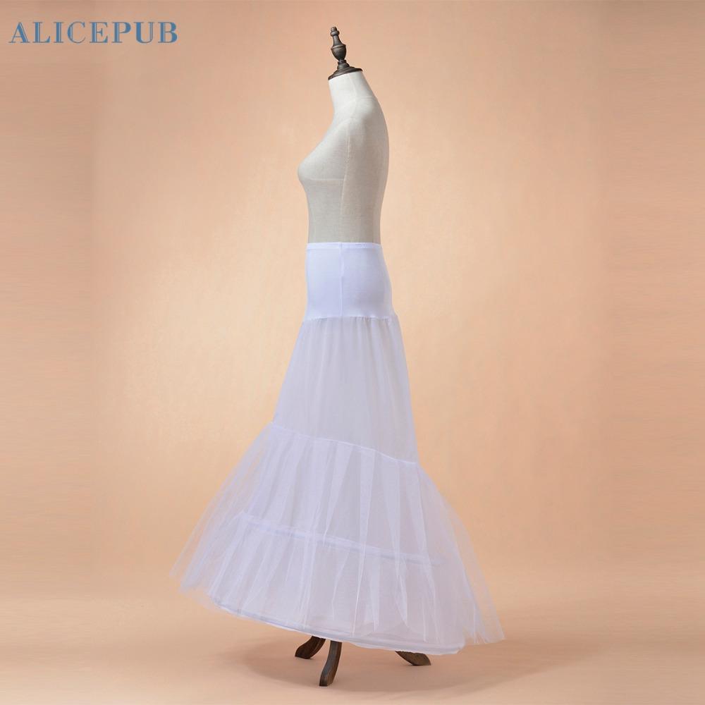 Popular mermaid trumpet petticoat buy cheap mermaid for Plus size wedding dress petticoat