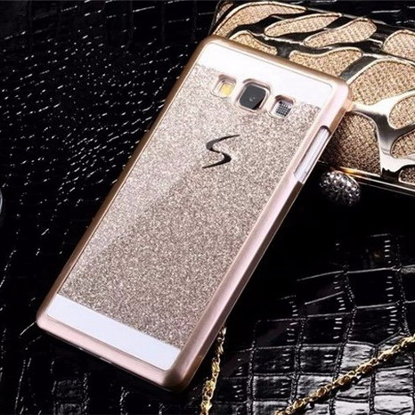 Phone Case for G5308 Bling Funda Phone Case Pouch for Samsung Galaxy Grand Prime G530 G5308 G530H PC Hard Cover Sparkle Case bag(China (Mainland))