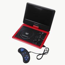 "9.5"" Portable DVD Portatil EVD DVD Player TV SD USB Direct Play Free Game CD& Controller JPG Radio Swivel LCD Screen(China (Mainland))"