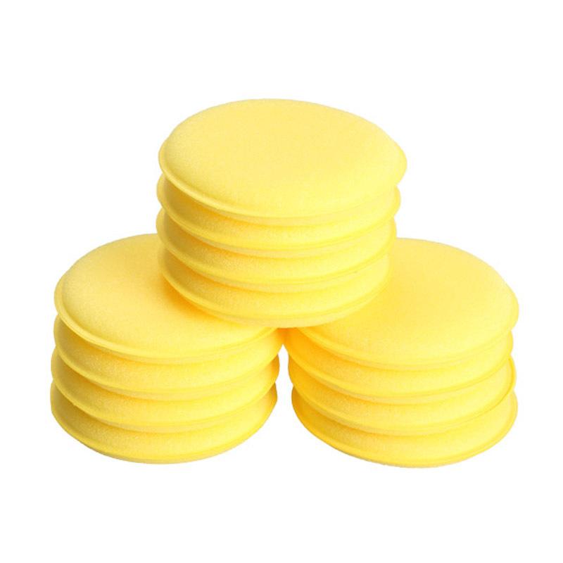 12pcs Polish Wax Foam Sponges Applicator Pads for Clean Car Vehicle Glass hv3n(China (Mainland))