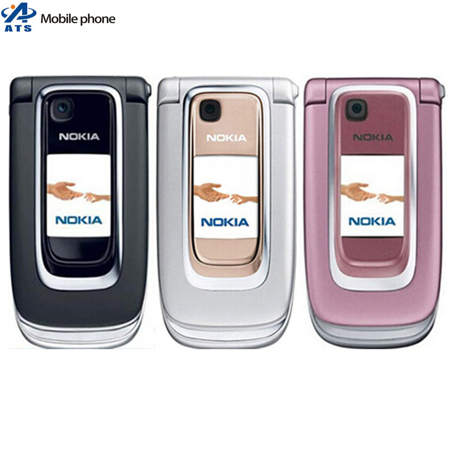 Original Nokia 6131 Mobile Phone Bluetooth MP3 FM Russian keyboard Support One Year Warranty(China (Mainland))